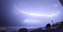 thunderstorm trovoada raio serra da estrela