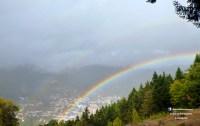 rainbow arco iris manteigas serra da estrela mancha