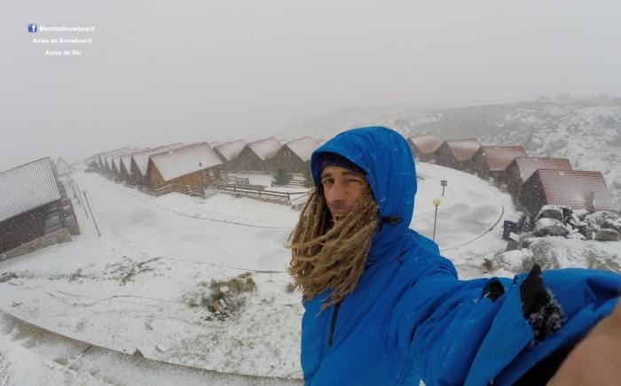 neve snowmancha instrutor serra estrela penhas saúde