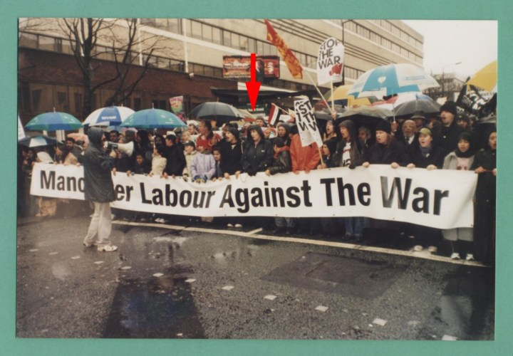 march against war