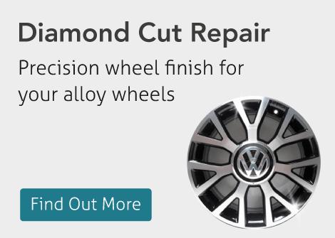 Diamond Cut Alloy Wheel Repair Manchester
