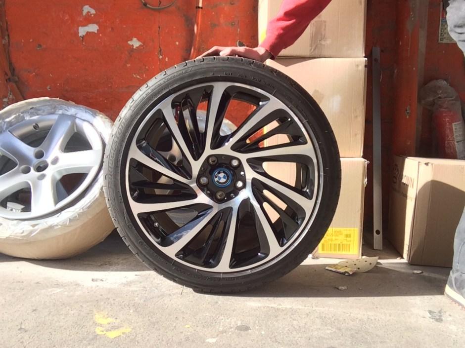 BMW Diamond cut wheel
