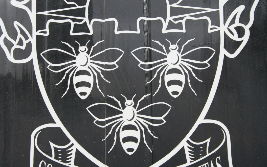 Coat of Arms Bees – University of Manchester