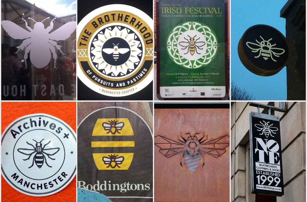 Manchester Logo Bees