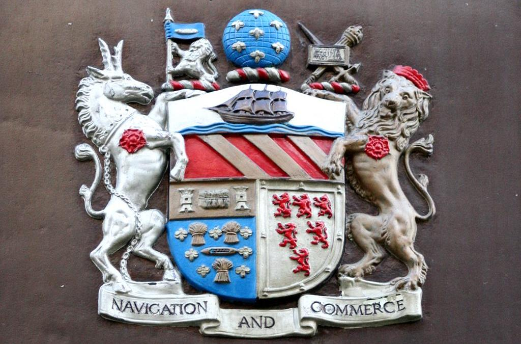 Coat of Arms Bees – The Manchester Ship Canal Company