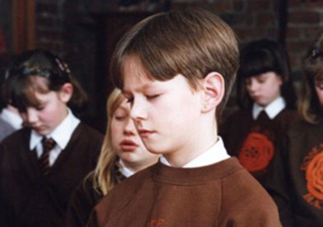 Meditation - stilling exercise with school children