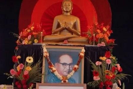 Dr Ambedkar shrine