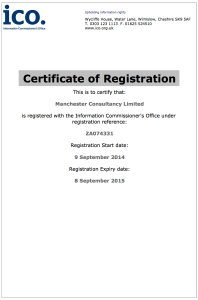 ICO Registration