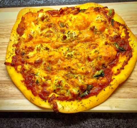 Simple Homemade Pizza