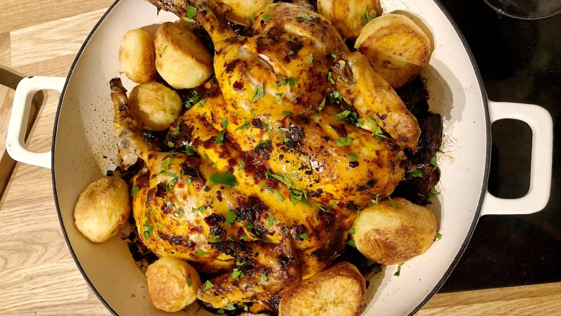 Home Cook – Rose Harissa Chicken