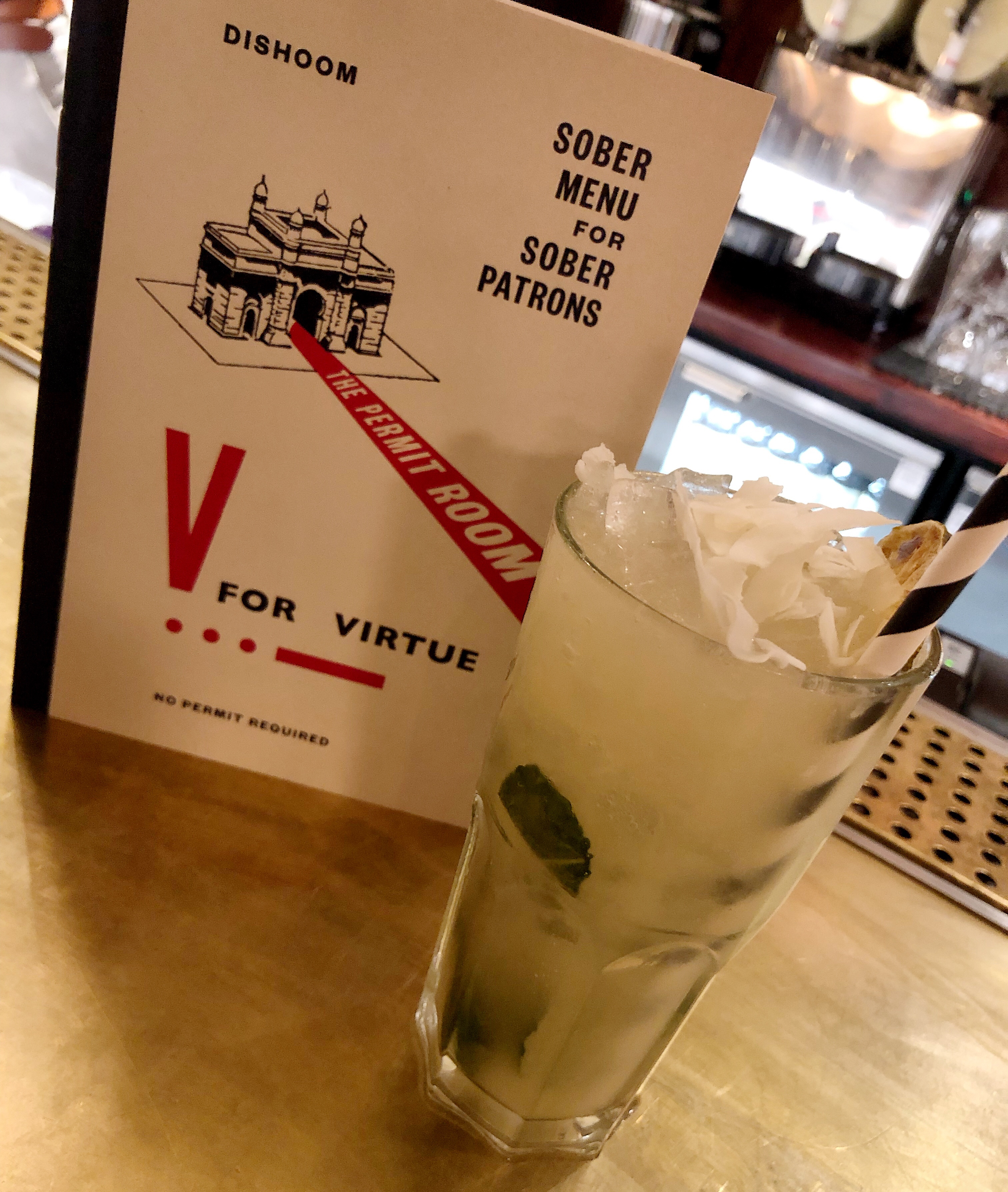 Food Tourist – Dishoom Revisited – With a DRY Tipple