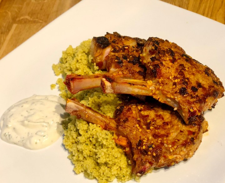 Home Cook – Spiced Lamb Chops