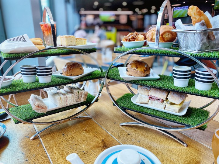 Food Tourist – Home and Away Afternoon Teas at Cafe Football