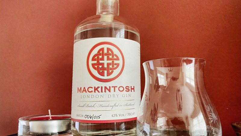 Gin Review – Mackintosh Gin