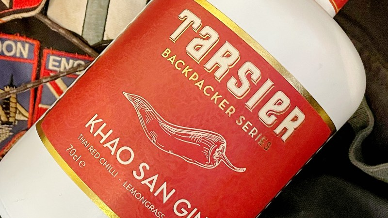 Gin Review:- Tarsier Backpacker Series – Khao San Gin
