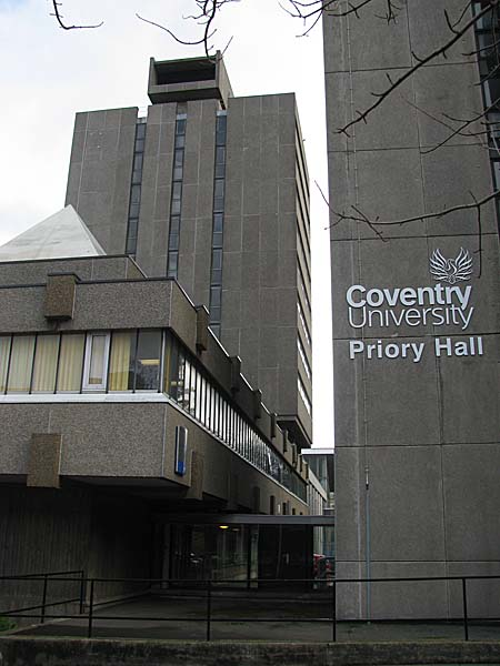 Priory Hall University Of Coventry Coventry Uk