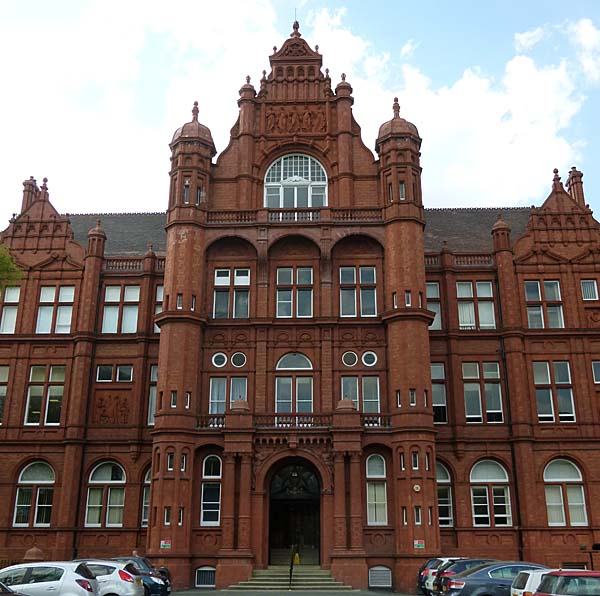 Peel Building University Of Salford