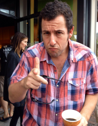 Adam Sandler wants you to enjoy the Fourth of July.