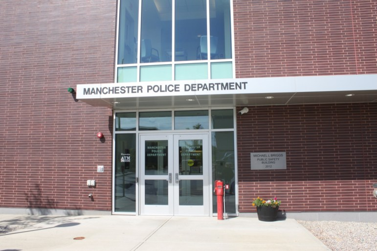 Manchester Police Headquarters on Valley Street.
