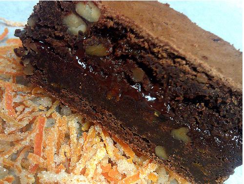 Zen brownies: Ohmm uum yum.