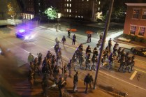 Scene from Keene Pumpkinfest riot. Credit/Rick Kfoury