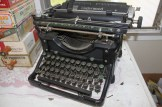 Michelle Erdman also buys old typewriters, which she pulls apart for the keys to use in jewelry.