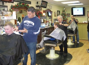 Free haircuts Nov. 11 for veterans at Spencer Martin Barber Shop in Bedford.