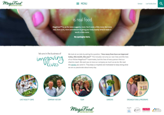 MegaFood.com has a new look and a new attitude.