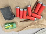 Shells and clips confiscated.