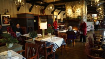CR Restaurant Interior