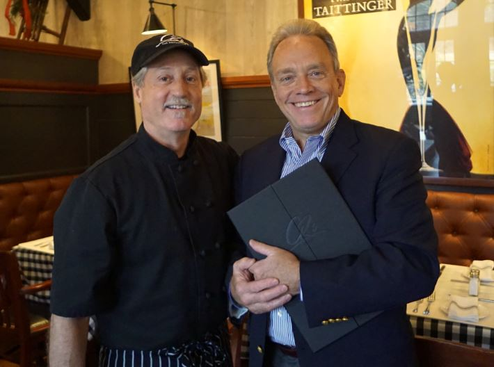 Chef Chris Veatch and Chuck Rolecek