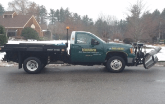 Police are looking for three stolen work trucks.