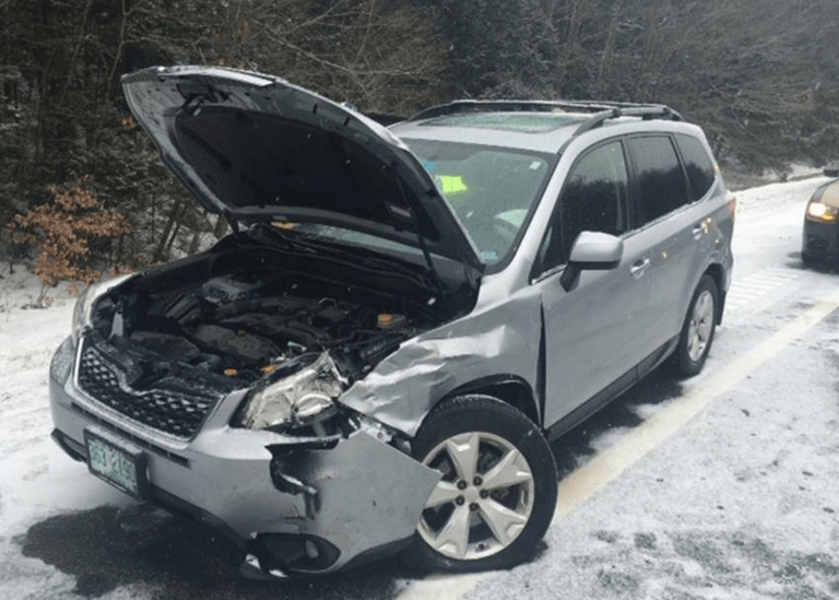 Accidents are all too common during snow events.