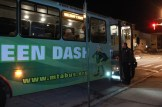 Green Dash was one of several city buses on special detail Dec. 4 for the bus tour.