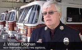 NH Fire Marshal Bill Degnan