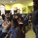 Community support at the YWCA for book launch.