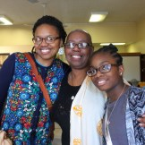 Brenda Lett, center, with her daughter, Bahati Benjamin, and granddaughter, Madiha Benjamin.