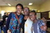 Brenda Lett, center, with her daughter, Bahati Benjamin, and granddaughter, Madiha Benjamin.