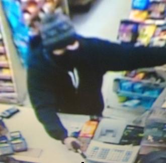 Union Street Market armed robbery suspect.