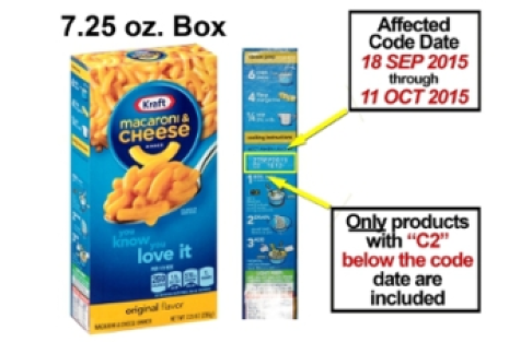 Kraft voluntarily recalls 6.5 million boxes of its Macaroni and Cheese .