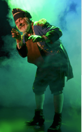 "George Piehl as Monsieur Thénardier in the Palace Theatre professional production of ""Les Miserables."""