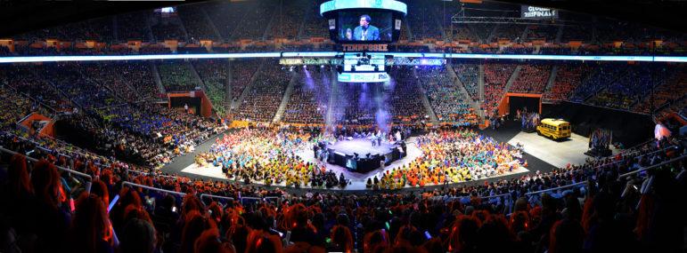 Opening Ceremonies in Tennessee.