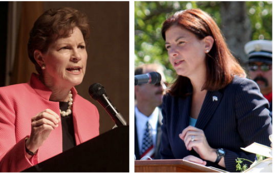 US Sens. Jeanne Shaheen, D-NH, left, and Kelly Ayotte, R-NH, will attend forum May 16.