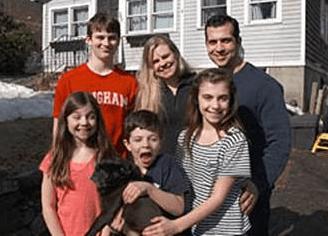 The Melanson family