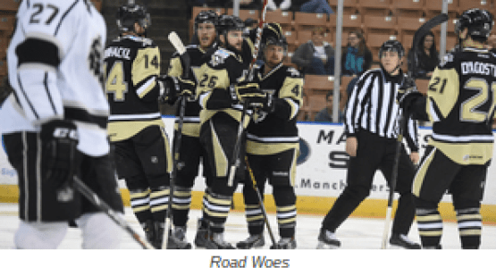 Road woes for the Monarchs.