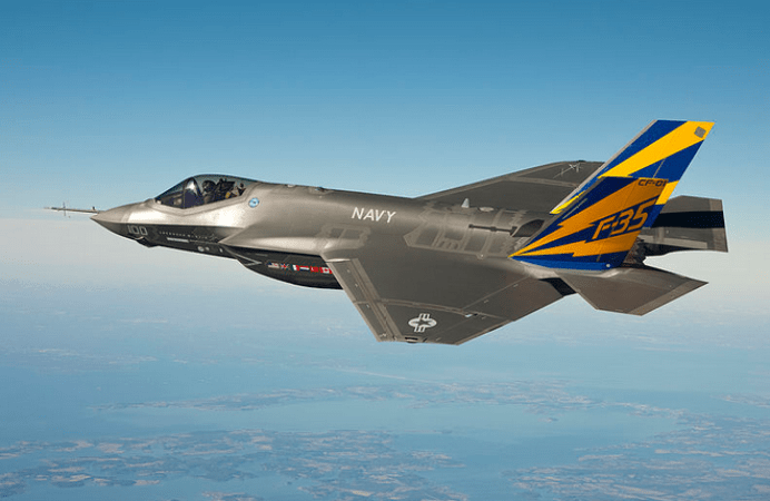 BAE produces the aft fuselage, tails, fins, electronic warfare system, and various other sub-systems for the F-35 Lightning II.
