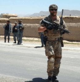 Navy Seal Blake Marston