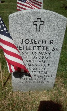 This is my pepere he was a great man. Served our country for many years. Please help me remember him on this Memorial Day. Picture was taken yesterday morning at Veterans Cemetery. Here in NH. Thank you to all men and woman who have served for this country to keep us safe. - Amanda Droz