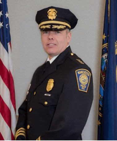 Manchester Police Chief Nick Willard, confirmed by Manchester Board of Aldermen June 2. 2015.