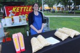 MmmPop Kettle Corn, made in Hooksett, was a big seller.
